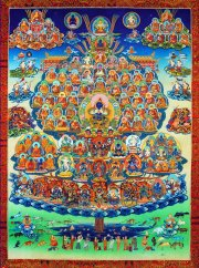 Το δέντρο του καταφυγίου Κάρμα Κάγκιου / Karma Kagyu refuge tree