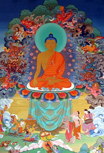 Enlightenment of Buddha