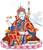 guru-rinpoche-lotus-born-stock-vector